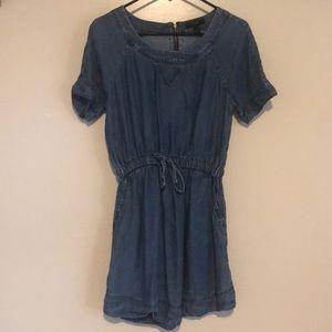 JCrew super soft denim dress - S